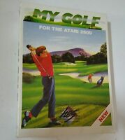 NEW WITH CRUSHED BOX MY GOLF Game for Atari 2600 PAL VER NOT FOR USA OR CANADA