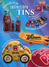 Modern Collectible Tins - Identification Types Values / Illustrated Book