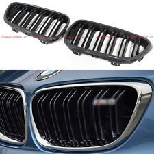 For BMW 2 Series 218i 220i F22 F23 F87 M2 Carbon Fiber Front Grille Grill 2014 +