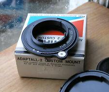Tamron Adaptall mount más antiguos para Pentax medición de apertura abierta es m42