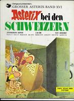 GROSSER ASTERIX BAND XVI Asterix bei den Schweizern - TOP ORIGINAL ERSTAUFLAGE