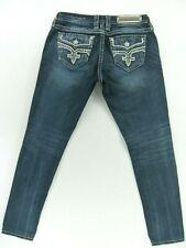 """NWT Women/'s ROCK REVIVAL SLIM STRAIGHT VELVET Jeans MOCHA  SZ:25-28 Inseam:32/"""""""