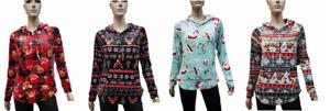 Christmas Hoodie Juniors Sizes No Boundaries NEW XS, S, M, L, XL, XXL, XXXL