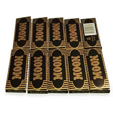 10×50 sheet 70mm 1.0 inch Moon Gold Cigarette Rolling Paper 500 leaves