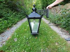 Large cast reclaimed Victorian style wall lamp/light lantern coach house garden