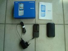 Nokia C3-01 - anthrazit (Ohne Simlock) Smartphone Hany mit OVP wie neu