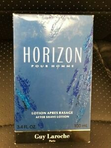 HORIZON by Guy Laroche 100 ml/ 3.4 oz After Shave Lotion- NEW