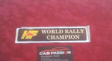 adesivo scritta posteriore LANCIA DELTA INTEGRALE HF WORLD RALLY CHAMPION sigla