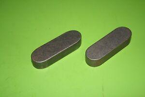 2 Stück Passfedern DIN 6885 aus C45K A-16x10x50