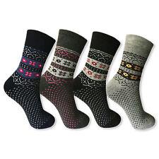 12 Paar Damen Thermo Socken Norweger Winter Sport Dick Warm Ski Arbeitssocken