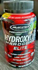 MUSCLETECH HYDROXYCUT HARDCORE ELITE 100 RAPID-RELEASE THERMO CAPS