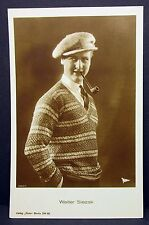 Walter Slezak-movie photo postcard-AK-Foto Autografo mappa (Lot g-6365