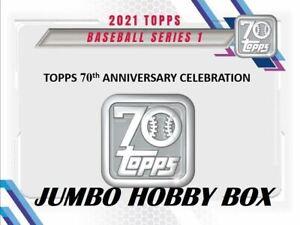 2021 Topps Series 1 | BREAK | 1 Jumbo Hobby | 2 Random Teams | #7