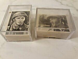 1964 Donruss Selmur Combat Complete Set Cards #1-132 Rare EXMT-NMMT Series 1 & 2