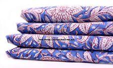 5 Yd (environ 4.57 m) floral tissu de coton coudre Apparel Hippie Craft Sewing Indian Fabric Art