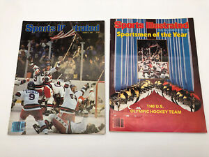 1980 Sports Illustrated USA Hockey Miracle on ICE March 3, 1980 & 12/22/80