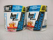 2 BPI SPORTS 1MR VORTEX PRE-WORKOUT ENERGY FRUIT PUNCH 4.2ozea EXP 10/20 CB 2006