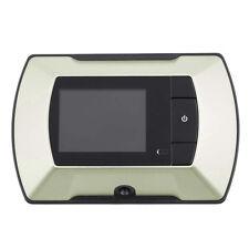 "New Digital Wireless Smart Visual Door Peephole Viewer Camera Video 2.4"" LCD  FT"