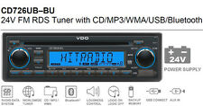 24 Volt Bluetooth LKW Radio RDS Tuner CD MP3 WMA USB Truck Bus 2910000080800