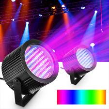 2Pcs RGB 86 LED Stage Light DMX Par CAN DJ Disco Club Bar Party Strobe  new