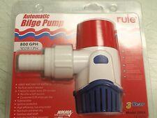 BILGE PUMP AUTOMATIC RULE 20SA 800 GPH ROUND BILGEPUMP BOAT MARINE PARTS EBAY