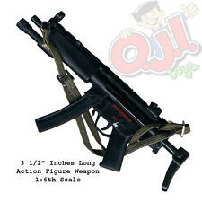 "Dragon Models HK MP5A3 Surefire and Active Stock for 12"" Figures 1:6 (3134g41)"