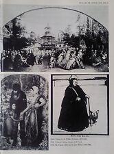 1965 PICTURES by WILLIAM NICHOLSON - P LEVIN - JOHN MILLAIS - PAUL TROUILLEBERT