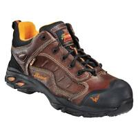Thorogood Men's Brown Z- Trac Oxford Sport Composite Toe Work Shoes 804-4035