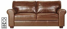 Argos Solid Leather Sofas