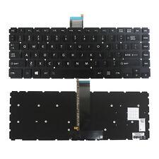 New listing Us backlit Keyboard Toshiba Satellite Radius E45W-C E45W-C4200X 6037B0096202 De