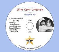 "DVD ""Madame Behave"" (1925) Julian Eltinge, Ann Pennington, Classic Silent Comedy"