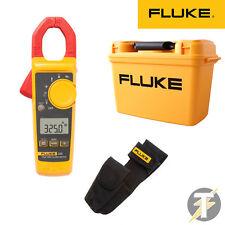 Fluke 325 True RMS Digital Clamp Meter KIT1O, H3 Holster & C1600 Tool Box Case