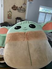 "2020 Star Wars The Child Baby Yoda 10"" Original Squishmallows Kellytoy Disney's"