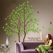 Green Tree Quotes Wall Sticker Mural Home Decals Removable Art Vinyl Room Decor