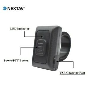 NEXTAV R16 Bluetooth Zello PTT Button for Samsung Galaxy Sony Android ZelloWork