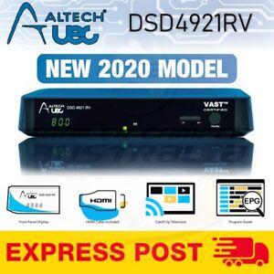 Altech UEC DSD4921RV VAST Satellite Receiver Decoder PVR SAT HD TV Box 12v 240v