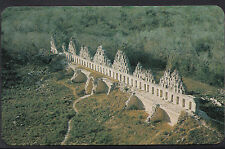 Mexico Postcard - Remnants of The Dove-Cotes Temple at Uxmal  DR342