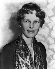 New 8x10 Photo: Women's Aviation Pioneer Amelia Earhart