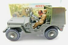 DINKY TOYS 828 * JEEP ROCKET-CARRIER * OVP * 1:43