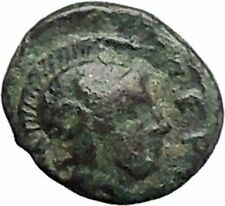PERGAMON in MYSIA 310BC Hecules Athena Authentic Ancient Greek Coin i48677