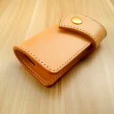 handmade design Vegetable-tanned leather key holder card set copper accessories