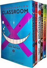 Assassination Classroom Vol 6-10 Collection 5 Books Set (Series 2) Yusei Matsui