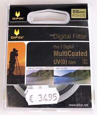 UV-Schutzfilter 55mm Pro1 MC Slim von Difox