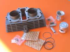 Cylinder 124cm3 for Honda CBT125 Bike Pistons Rings Wrist Pin Clips Gaskets Set