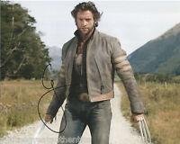 ACTOR HUGH JACKMAN HAND SIGNED X-MEN WOLVERINE 8X10 PHOTO 2 COA LES MISERABLES