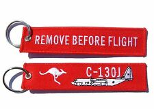 RAAF C-130J Remove Before Flight Key Ring Luggage Tag