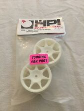 HPI #3556 7 Spoke Touring Car Wheels 26mm White