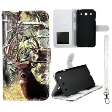 WhiteTailCamo Deer Wallet  S Leather Case for LG Optimus G Pro E980  Cover Phn