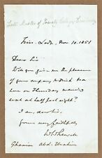 More details for william whewell, english polymath, scientist, philosopher. 1851 autograph letter