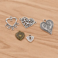 DIY Love Tibetan Silver Pendant Alloy Retro Charms Jewellery Making Craft Supply
